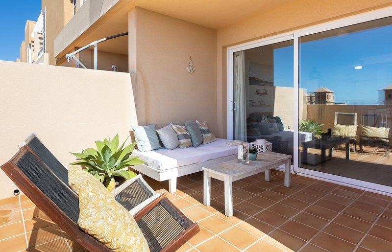 Cozy apartment in Fisher's town, holiday rental in Poris de Abona