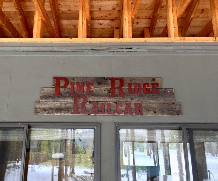 Pine Ridge Railcar (Colorado Cabin Retreat), alquiler de vacaciones en Pitkin