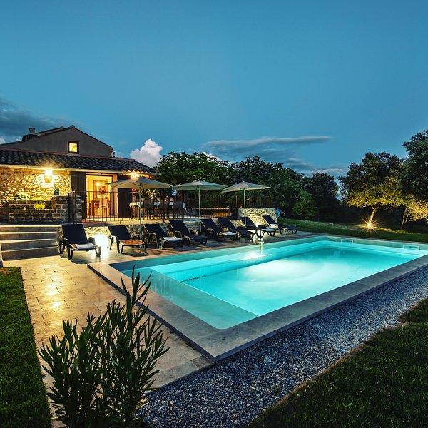Propriété de standing 4*Mas Sainte Croix VAISON Mont Ventoux en campagne 8 pers., holiday rental in Villedieu