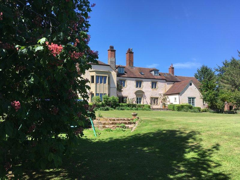 Batchcott Hall, holiday rental in Pontesbury