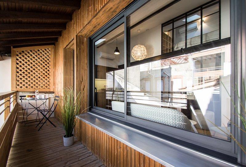 LE DIEBOLD - Appartement 2 chambres climatisé, casa vacanza a Tolosa