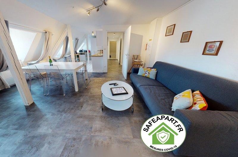 PLEYEL *** city center appart 2 Chambres + Séjour, holiday rental in Plobsheim