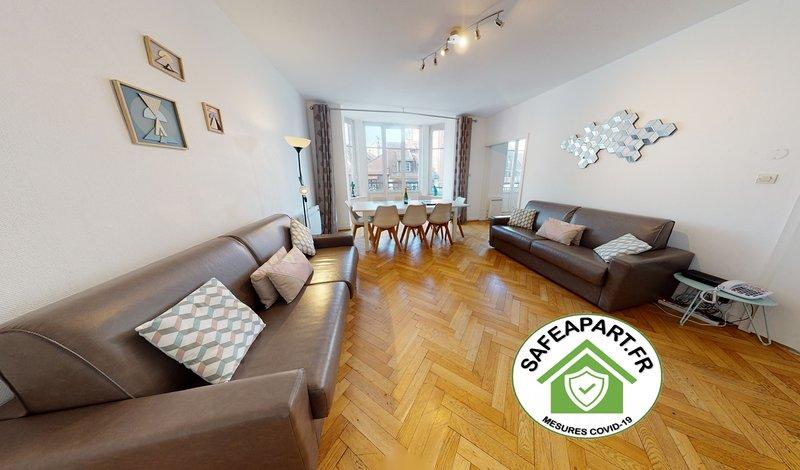 WYLER*** appartement 2 Chambres + Séjour 2WC 2SDB, holiday rental in Plobsheim