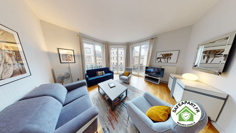 BLEU MESANGE **** F3 2 Bedrooms 2 Bathrooms 90m2, vacation rental in Strasbourg
