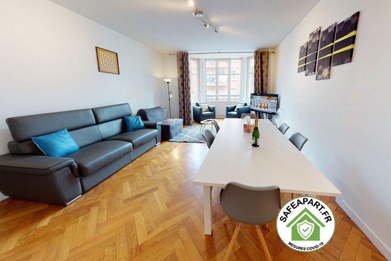 NETTER *** city center appart 2 Chambres + séjour, holiday rental in Plobsheim