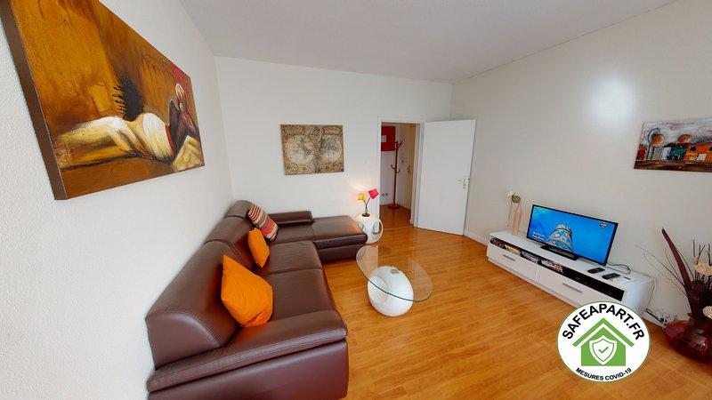 KLEBER LES HALLES *** 2 chambres centre ville 64m2, location de vacances à Strasbourg