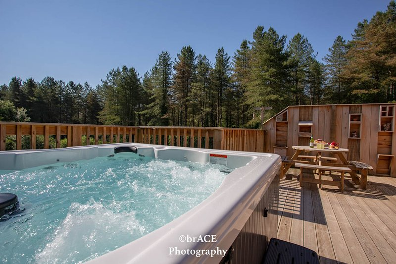 Squirrel Lodge, Clements End, Coleford - HOT TUB, casa vacanza a Forest of Dean