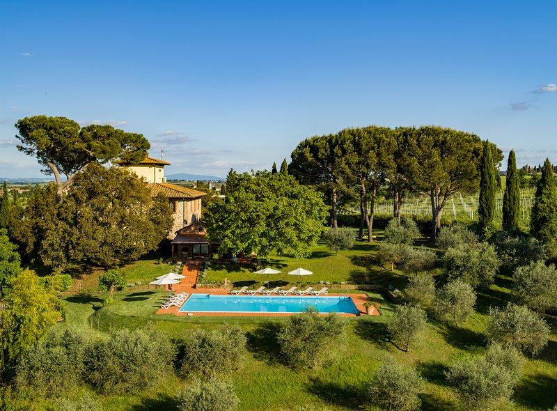 Villa Monarca -Tuscany-, location de vacances à Guazzino