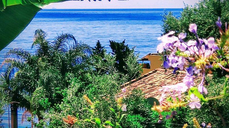 Jasmine vista mare, holiday rental in Letojanni