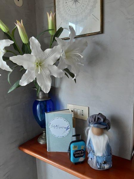 Gulliver pronto ad ospitarvi nella Lory's house:-)