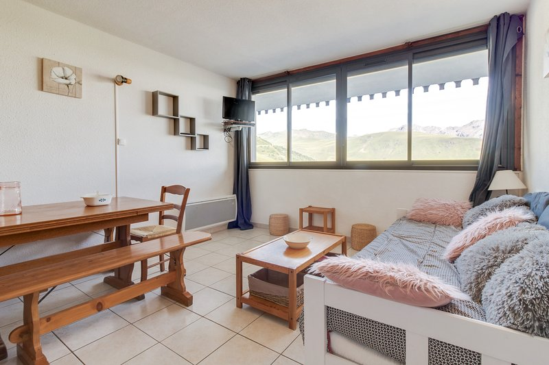 La Piste - Appartement 28 m² vue montagne, casa vacanza a Tramezaigues