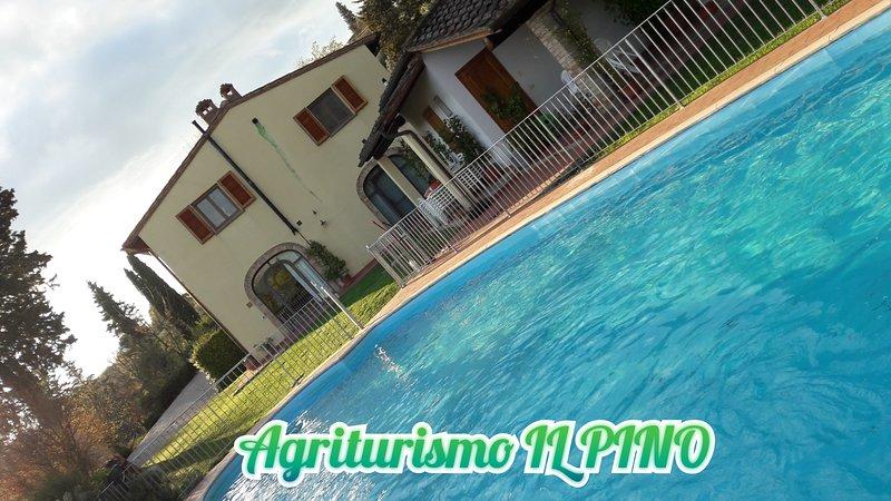 APPARTAMENTO 'CIPRESSO' IN AGRITURISMO 'IL PINO', holiday rental in Gambassi Terme