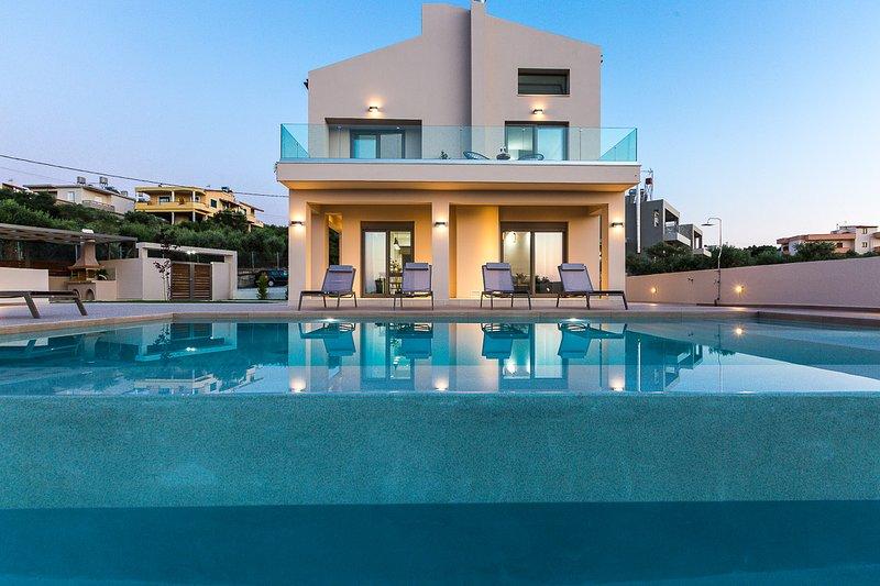 Villa Estel, luxury, modern, family, holiday rental in Kalamaki