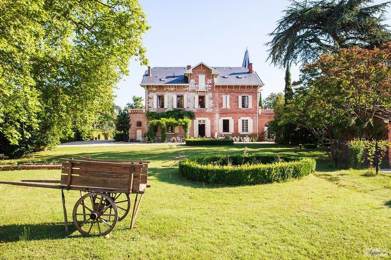 facade sud du chateau