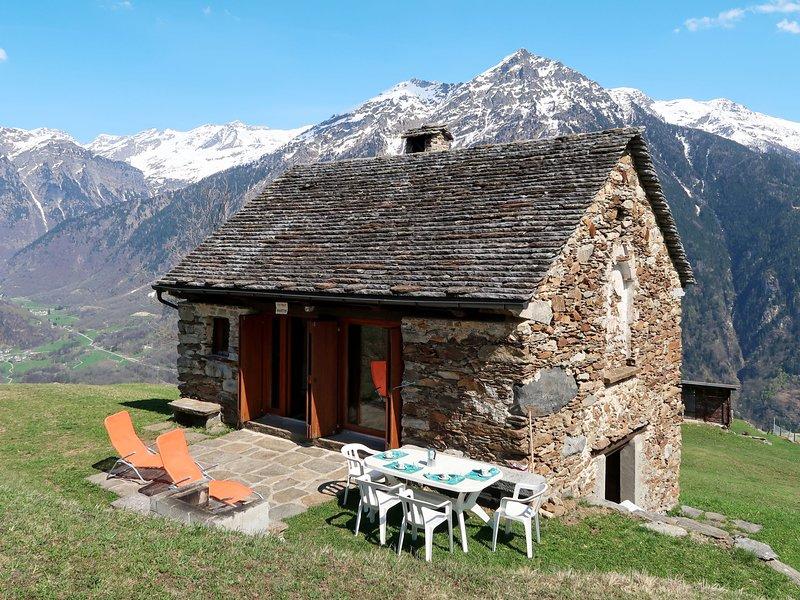 House Tecc Du Martin (LTC115), holiday rental in Acquarossa