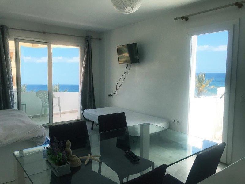 IBIZA Beach Front Attic x6, holiday rental in Playa d'en Bossa