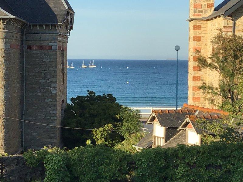 Appartement vue sur mer, alquiler vacacional en Saint-Cast le Guildo