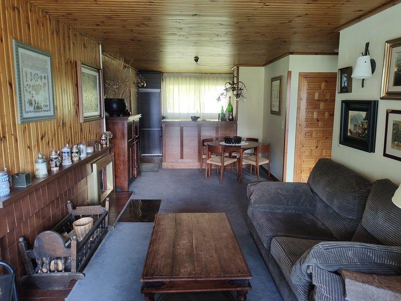 Acogedor apartamento con preciosas vistas a la montaña, vacation rental in Anso