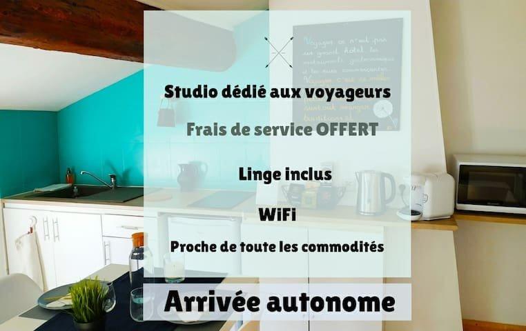 Studio l'appart & bleu, holiday rental in Lozanne