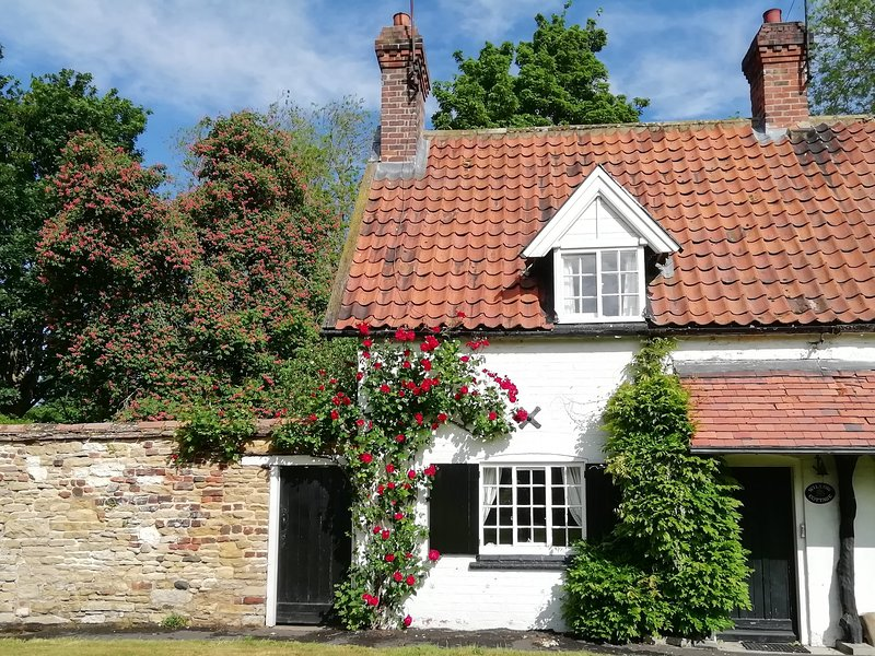 WILLOW COTTAGE, WiFi, woodburner, Beverley, holiday rental in Skidby