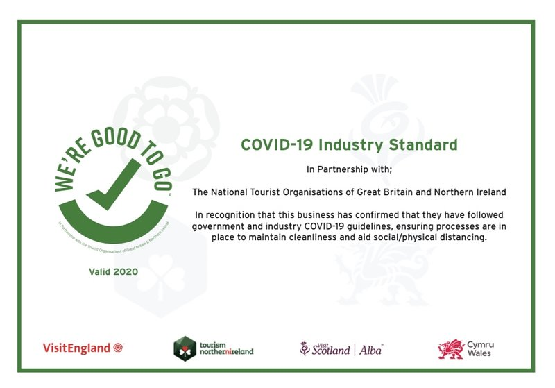 No5 is following  Government and Industry Covid19 guidelines for enhanced cleaning procedures.