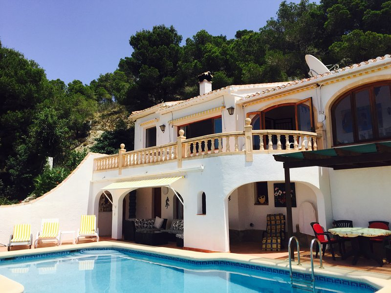Casa Patricia 4 bedroomed villa Rafalet Spain, holiday rental in Javea