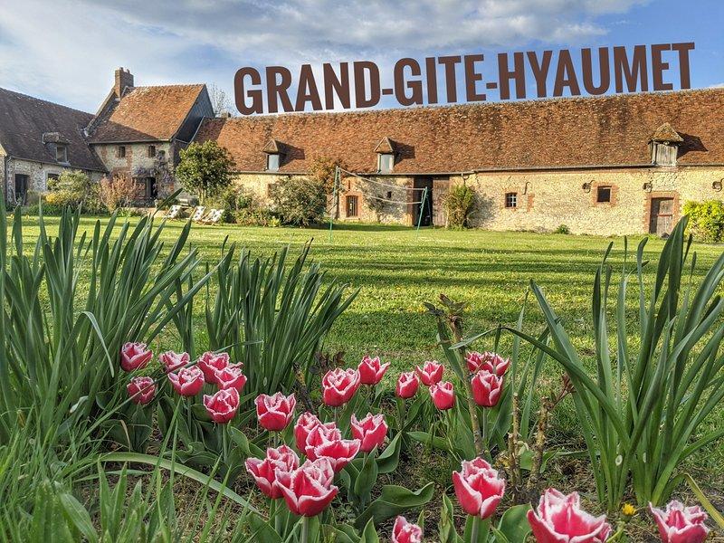 Grand Gite Hyaumet, location de vacances à Montroty