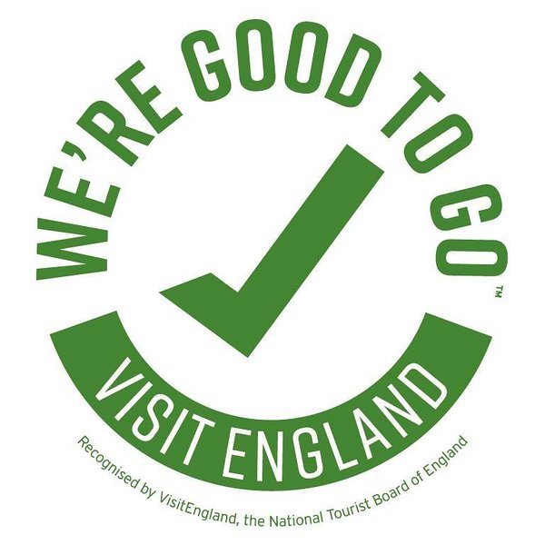 Awarded We're Good to Go benchmark for Covid-19 preparation by Visit England.