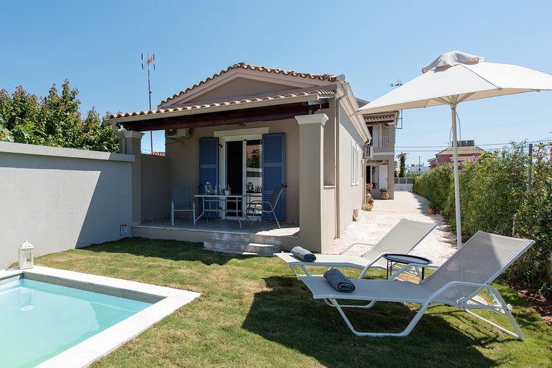 Villa Angelina, aluguéis de temporada em Korissia
