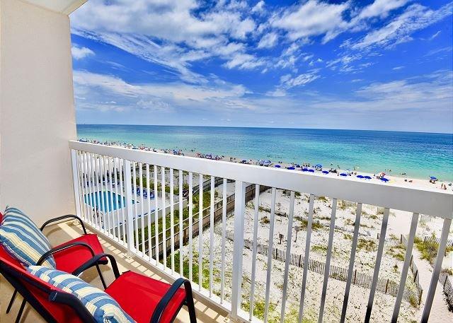 Caribbean 404 ~ Dog Friendly (Add'l Fee) ~ Beach Front ~ Bender Vac Rentals, location de vacances à Gulf Shores