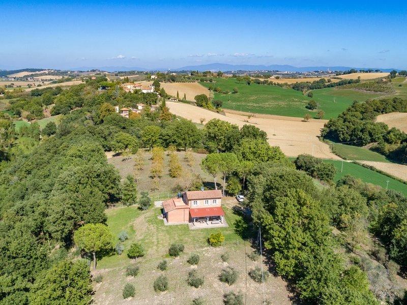 Mugnanesi Villa Sleeps 6 - 5842218, alquiler vacacional en Cozzano