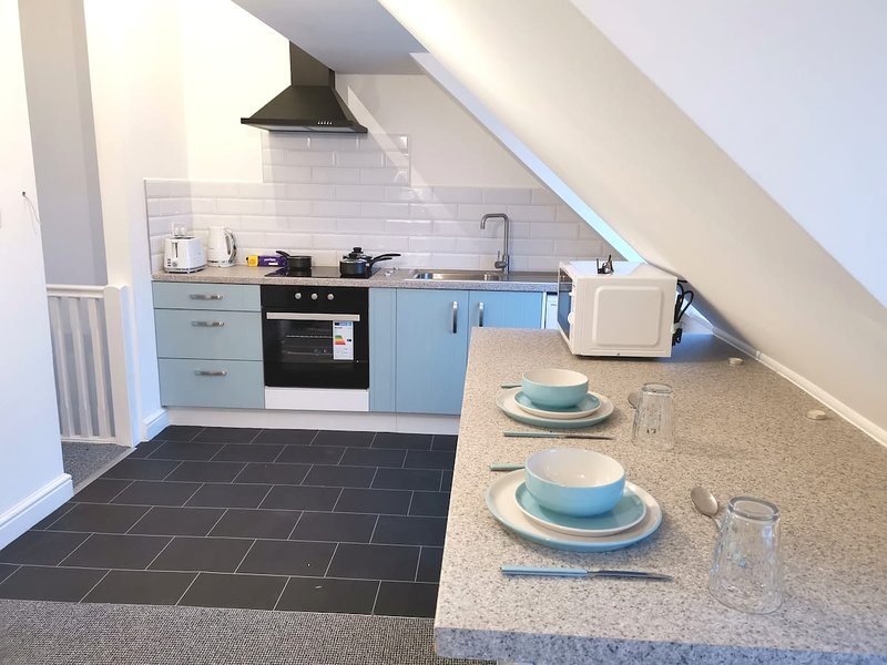Highview House Redcar- Penthouse Apartment 3, holiday rental in Redcar