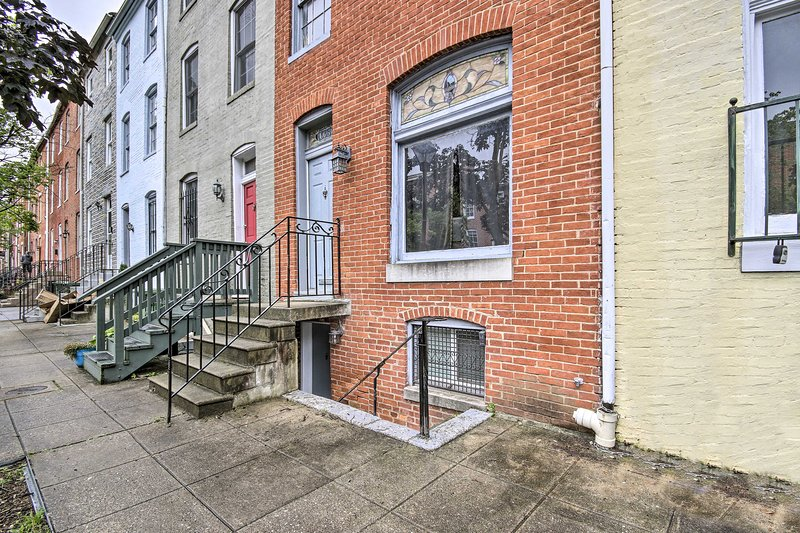 NEW! Cozy Downtown Baltimore Apt: Walk Everywhere!, aluguéis de temporada em Linthicum Heights
