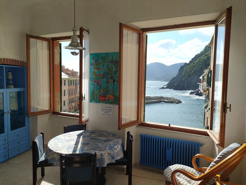 Agretta Sea View Apartment, casa vacanza a Vernazza