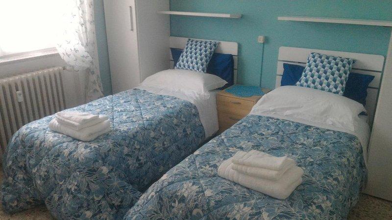 STANZA AZZURRA, location de vacances à Villa D'Adda