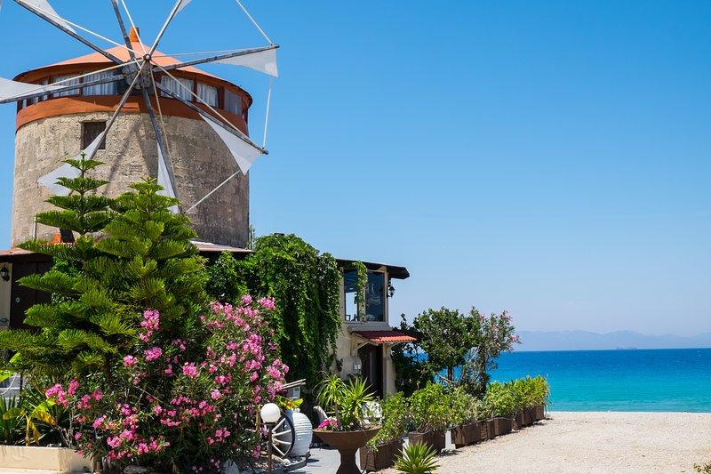 Mythica Tower Mill - Windmill Villa, holiday rental in Ialyssos