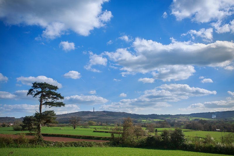 A Lodge with a stunning view!, holiday rental in Culmstock