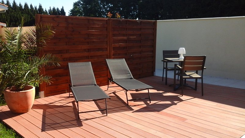 Location terre mer, holiday rental in Le Temple