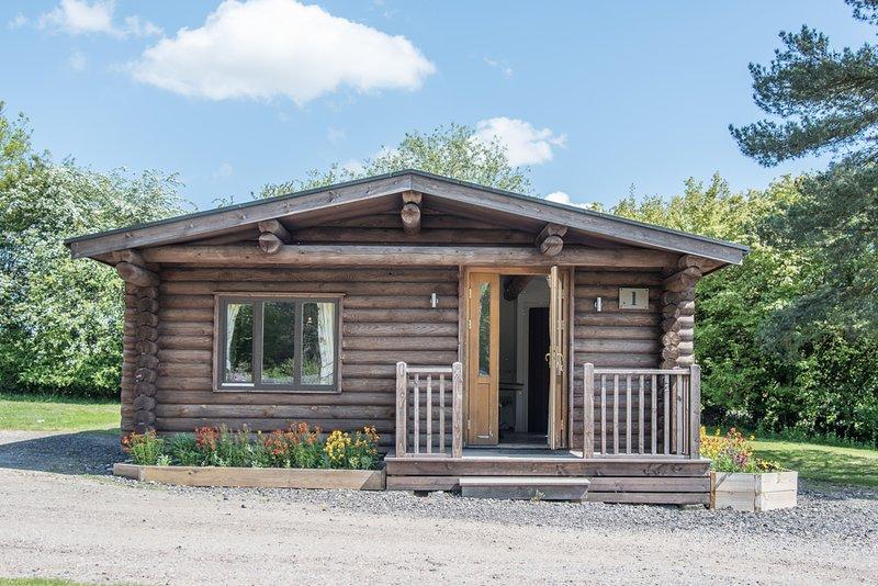Lodge 1, Kingfishers (Air Manage Suffolk), Ferienwohnung in Debenham