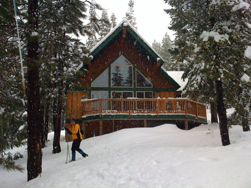 Perfect Cabin Retreat, alquiler vacacional en Crescent Lake