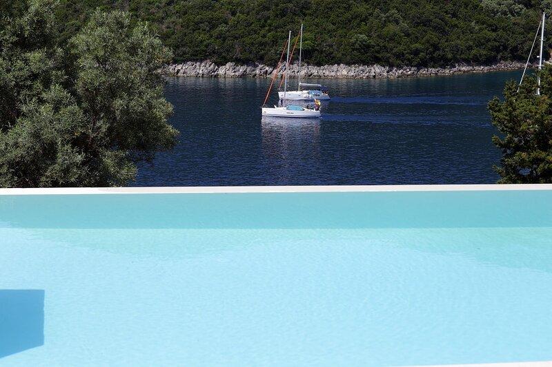 Villa Elif - Direct Sea Access & Live Scenery at Sivota Bay's Entrance, holiday rental in Poros