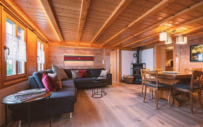Chalet Rösi - Ferienhaus in Adelboden, vacation rental in Achsete