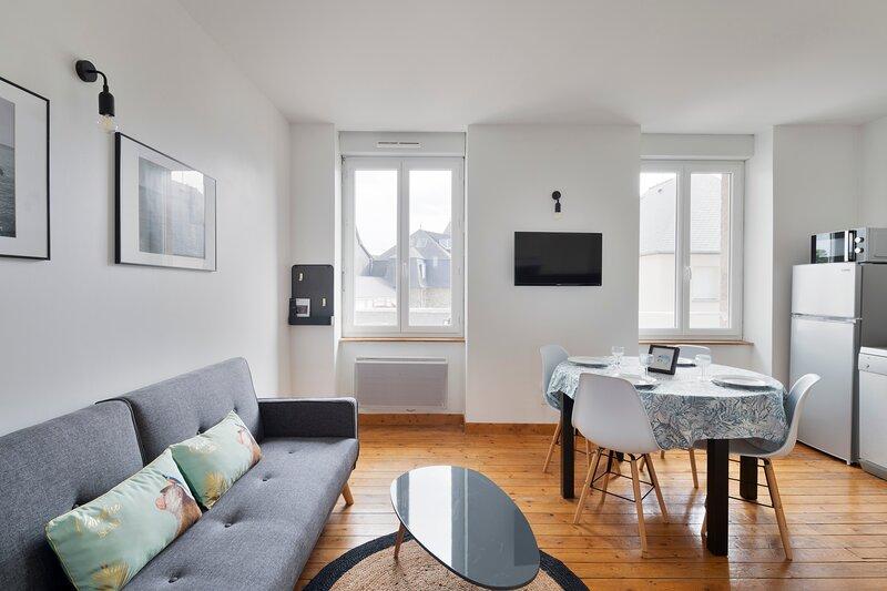 LA CREVETTE BLEUE - 2 chambres, parking, casa vacanza a Pleherel-Plage-Vieux-Bourg