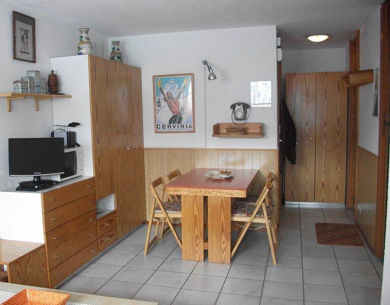 Appartement ski in en uit voor 4 personen., Ferienwohnung in Valtournenche