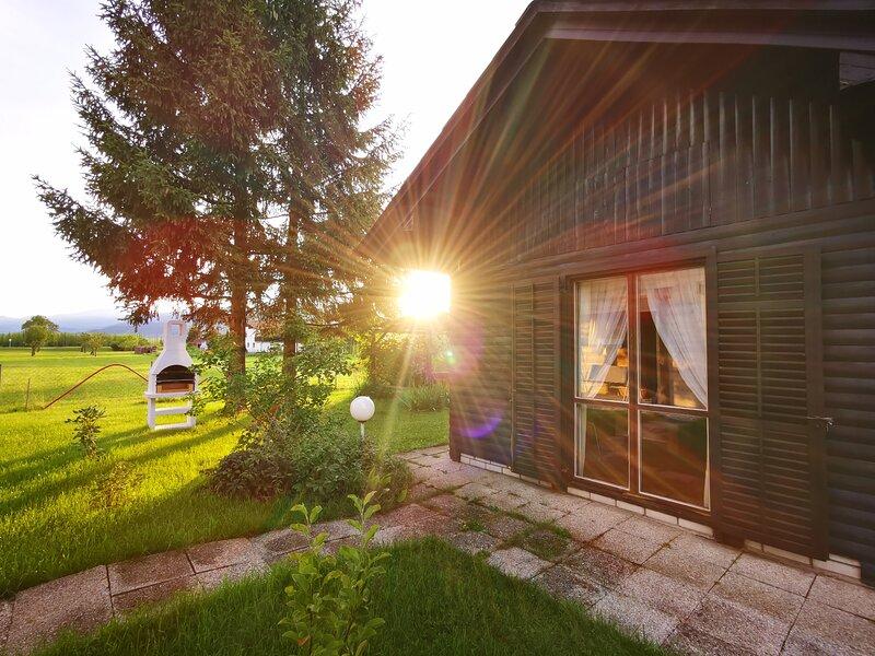 MERIKOTKA cozy wooden cottage near celje, sLOVEnia, holiday rental in Ljubija