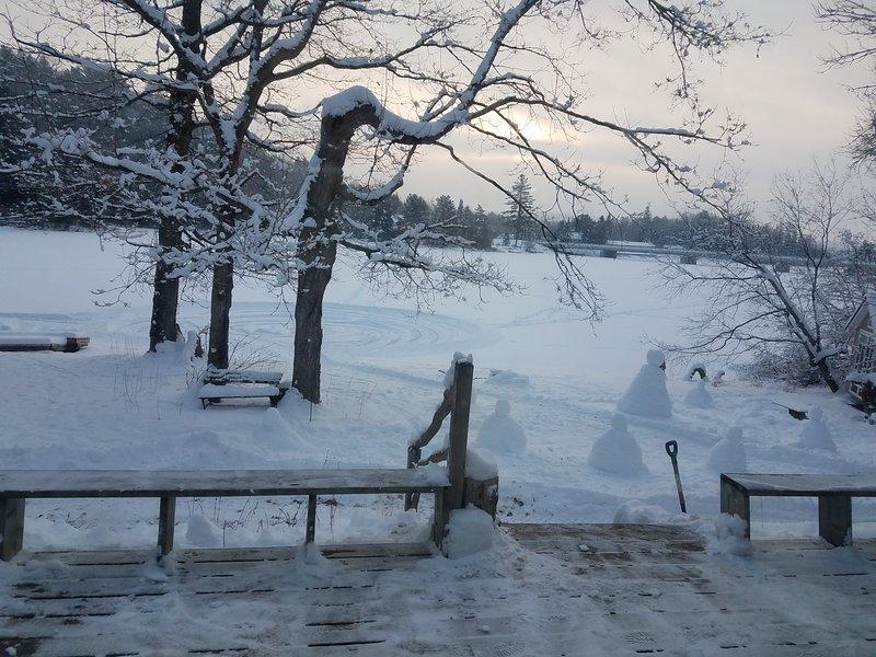 Beautiful and fun in the winter!