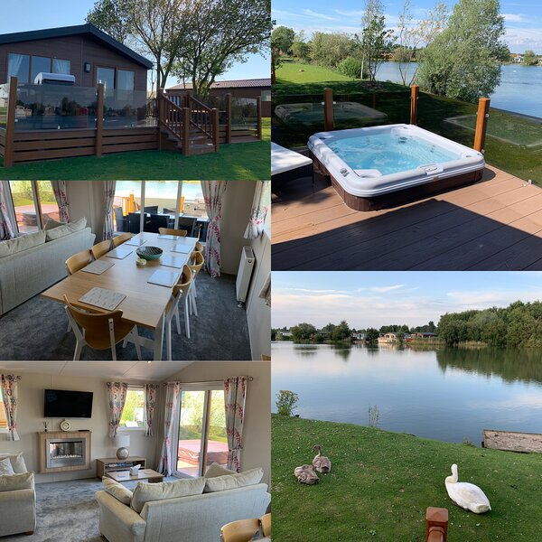 Hideaway 2, 8 berth, 2 shower room, LAKESIDE Luxury, Hot Tub, Private Fishing!, vacation rental in Tattershall