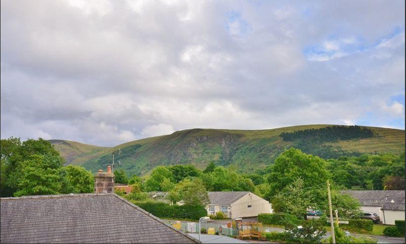 view of fells from house