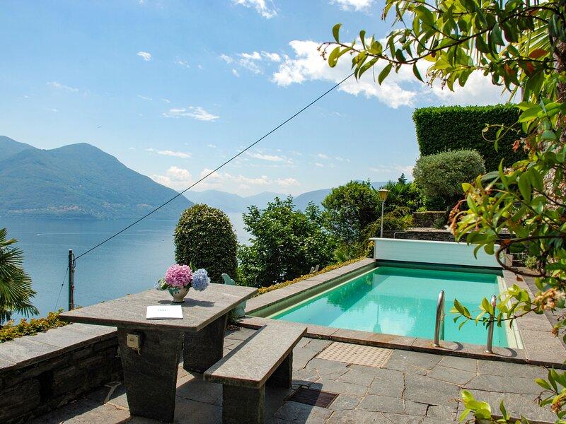 Villetta Irma, casa vacanza a Ronco sopra Ascona