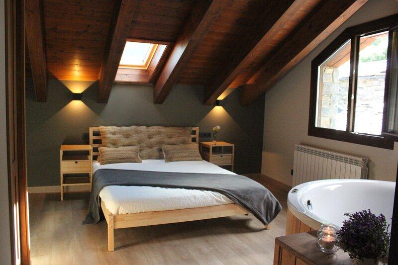 Casa la Era - Apartamento La Rabosa - Encantador dúplex bajo cubierta, holiday rental in Bisaurri